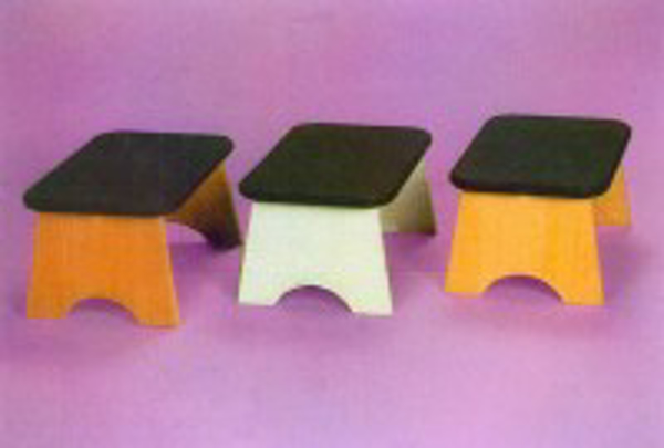 Picture of Stool Single Step Wooden