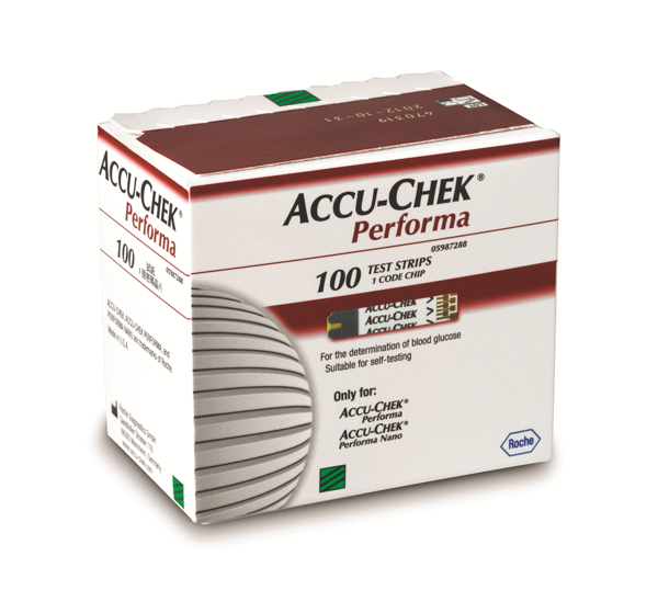 Picture of Accu-Chek Performa Strips 100