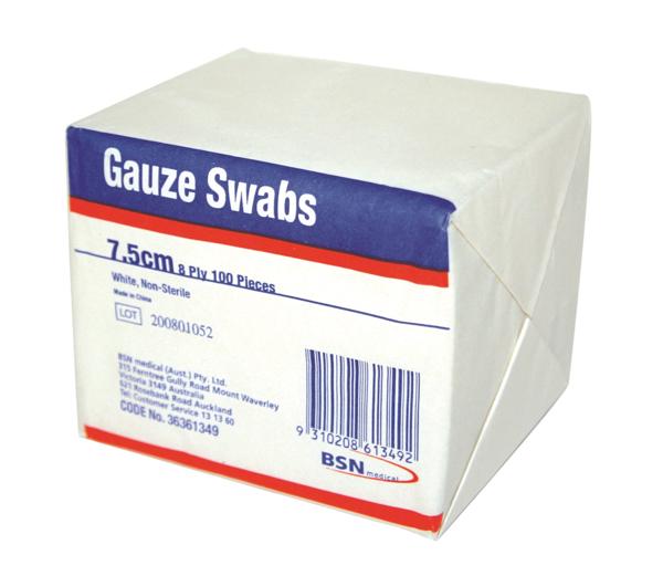 Picture of Gauze Swab 7.5cm BSN Handy 72619-00 100s
