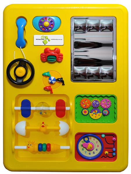 Picture of Play Panel Yellow