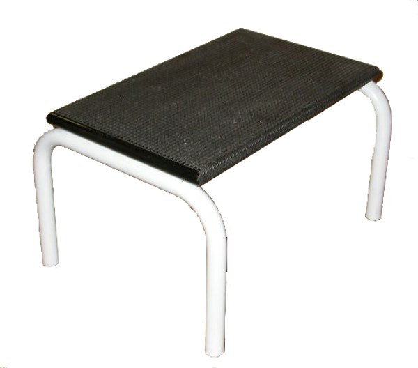 Picture of Stool Single Step WW Grey