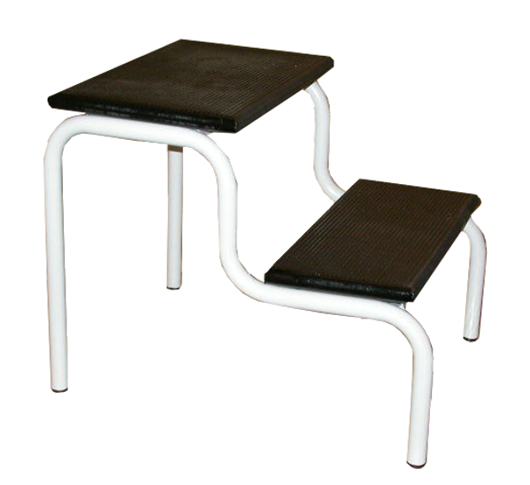 Picture of Stool Double Step WW Grey