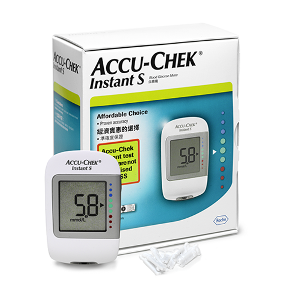 Picture of Accu-Chek Instant S Glucometer